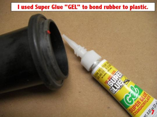 Super Glue can be purchased at many drug stores.